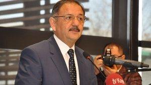 Bakan Özhaseki: İstanbul'da deprem olursa felaket olur