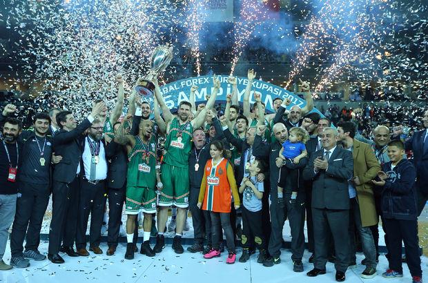 Türkiye Kupası'nda şampiyon Banvit!
