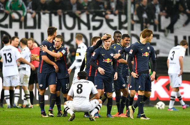 Borussia Mönchengladbach: 1 - RB Leipzig: 2   MAÇ SONUCU