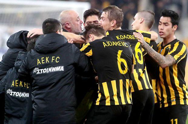 AEK: 1 - Olympiakos: 0   MAÇ SONUCU