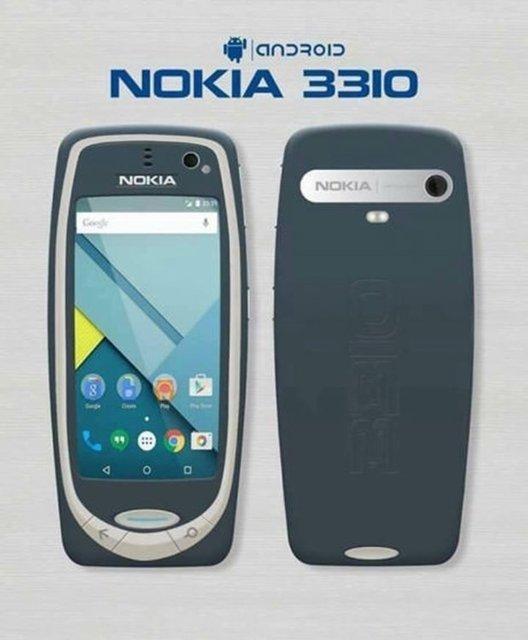 Yeni Nokia 3310'dan ilk sızıntı!