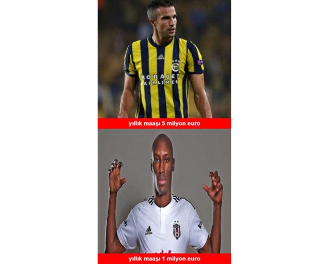 Galatasaray, Fenerbahçe ve Beşiktaş capsleri