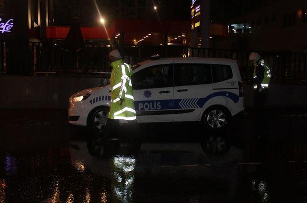 İstanbul'da polisten kaçan şüpheliye otomobil çarptı