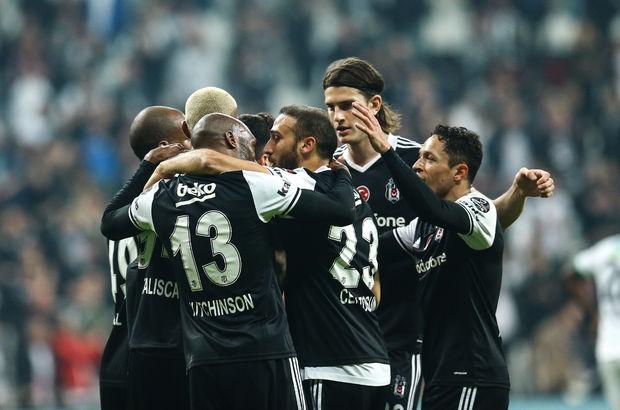 Beşiktaş zirveden inmiyor
