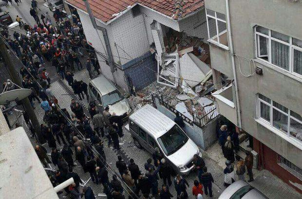 Küçükçekmece'de bir pastanede doğalgaz patlaması oldu. 7 kişi yaralandı.