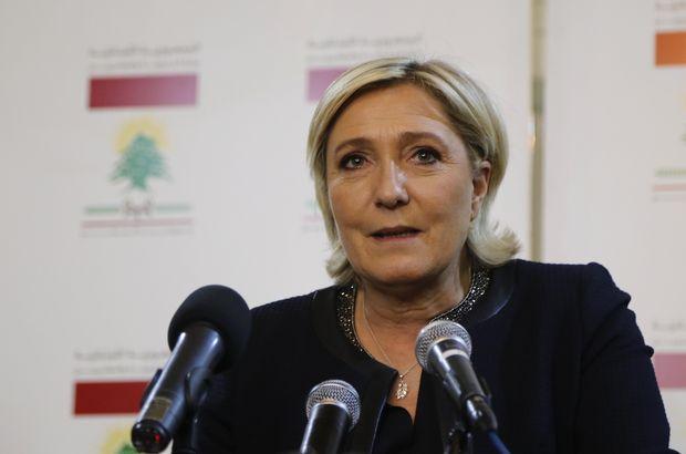 Fransa'da Marine Le Pen'in partisine polis baskını
