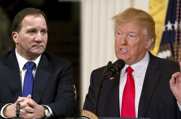 İsveç Başbakanından Trump'a yanıt