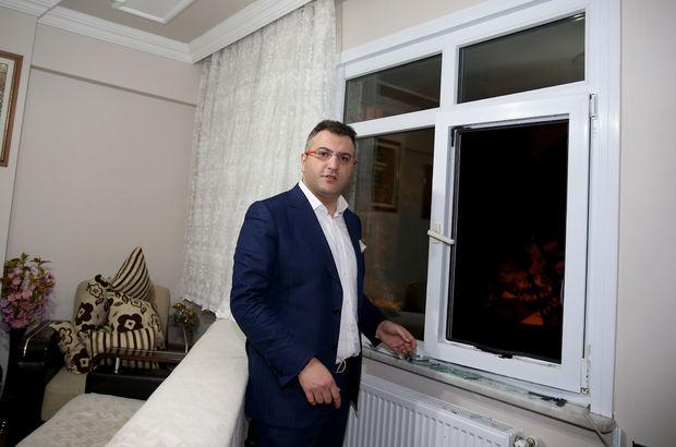 Gazeteci Küçük'ün evine silahlı saldırı