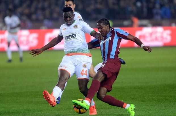 Trabzonspor: 0 - Aytemiz Alanyaspor: 0 | MAÇ SONUCU