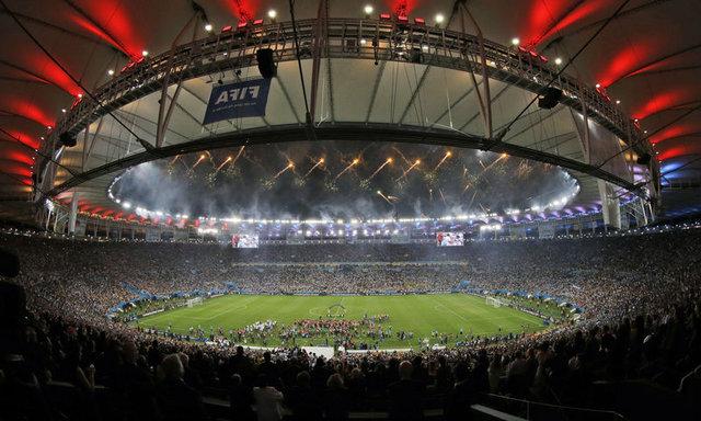 Maracana Stadyumu tanınmaz halde!