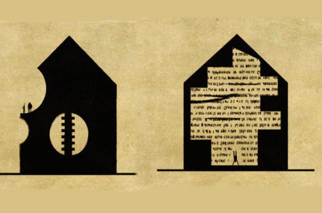 Zihinsel hastalıklarla özdeşleşen mimari resimler...