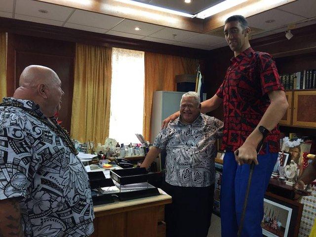 Sultan Kösen, Samoa'ya ayak basan ilk Türk oldu!