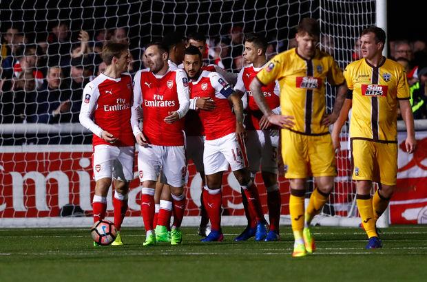 Sutton United - Arsenal