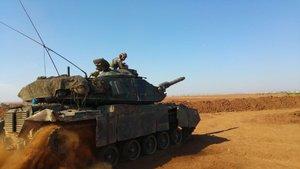 El Bab'da 1 asker şehit oldu 2 asker yaralandı