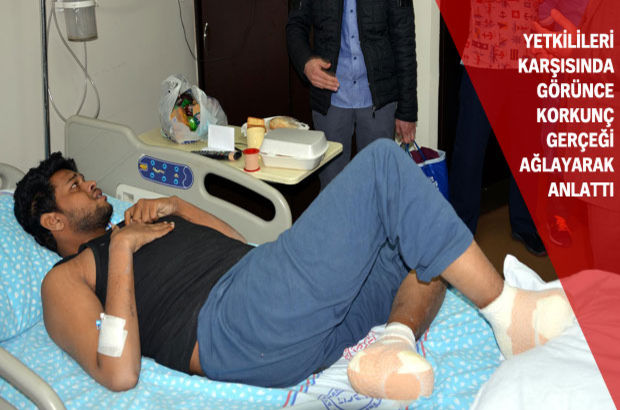 Mumammet Idnan Han'ın Pakistan'dan Erzurum'a uzanan yolculuğunda donan ayak parmakları kesildi
