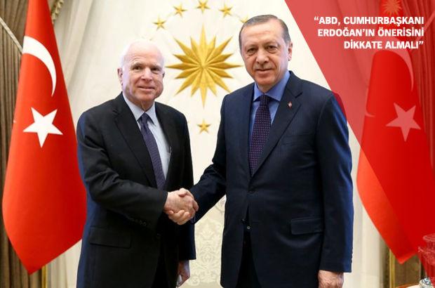 Arizona Senatörü McCain: ABD, DEAŞ'ı yenmek için Türkiye ile çalışmalı