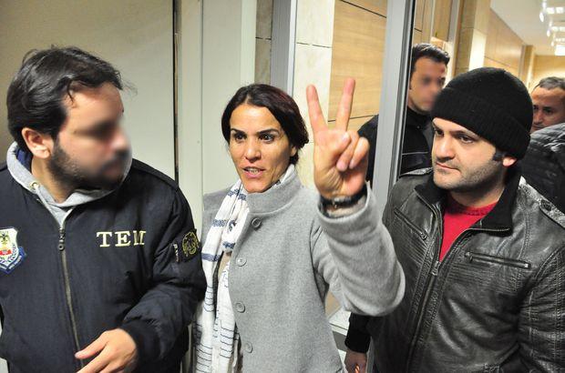 HDP'li Besime Konca'nın yargılanmasına başlandı
