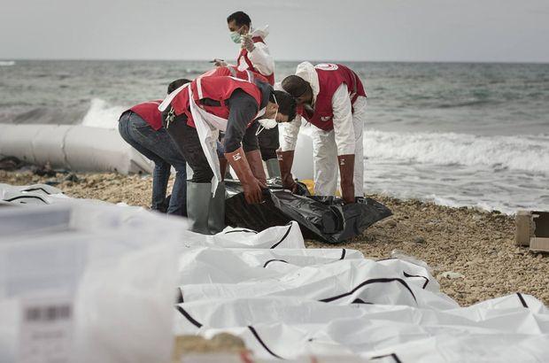 Libya'da 74 sığınmacının cansız bedeni karaya vurdu