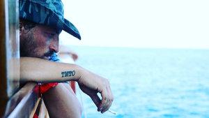 Onur Saylak'tan dövmeli paylaşım