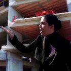 Eyüp'te sinir krizi geçirten olay! 8 katlı inşaattan düştü