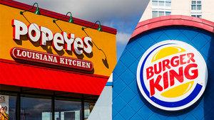 Burger King Popoyes'i satın alıyor!