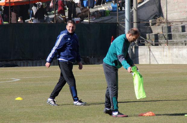 Zoran Barisic, Karabüksporla ilk idmanına çıktı