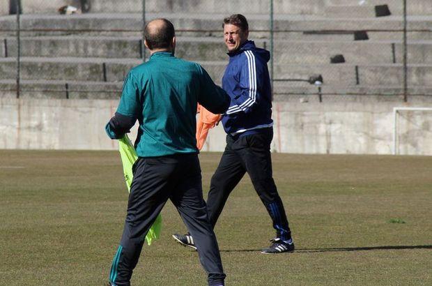 Barisic ilk antrenmanına çıktı