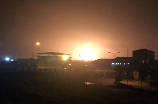İran'da doğalgaz patlaması