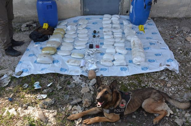 Mersin'de 80 kilo patlayıcı ele geçirildi