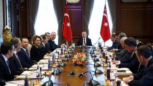 Cumhurbaşkanı Erdoğan TÜSİAD heyetini kabul etti