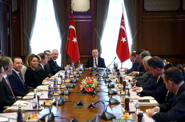 Recep Tayyip Erdoğan TÜSİAD
