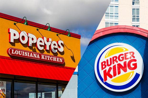 Burger King Popeyes'i satın alıyor!