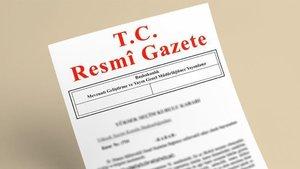Bakanlar Kurulu kararı Resmi Gazete'de yayımlandı