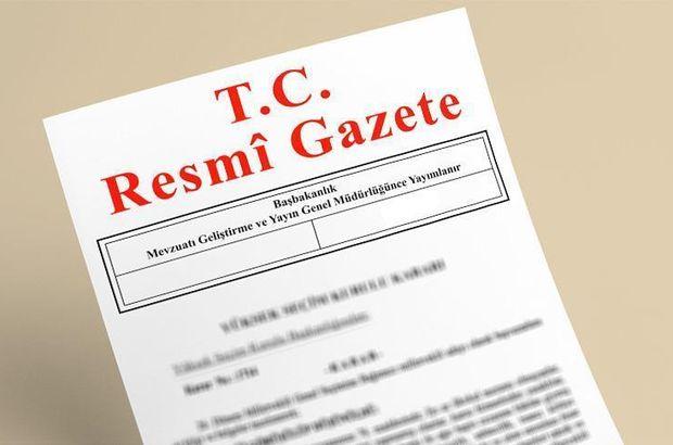 Resmi Gazete  Vakıflar Genel Müdürlüğü Adana Gaziantep Hatay