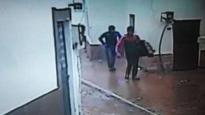 Balıkesir'de televizyon hırsızları yakalandı