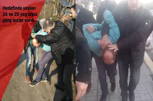 Sakarya Adapazarı'nda iki ayda 4 genç kıza saldıran şüpheli yakalandı