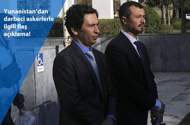 Yunanistan Dışişleri Bakanı Nikos Kocias'tan darbeci askerlerle ilgili açıklama