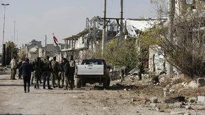 Suriye ordusu Halep'te bir bölgeyi ele geçirdi