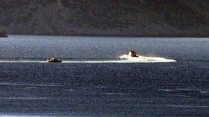 Türk karasularını ihlal etmeye çalışan Yunan güçlerine müdahale