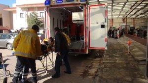 Suriyeli 8 kişi tedavi için Kilis'te