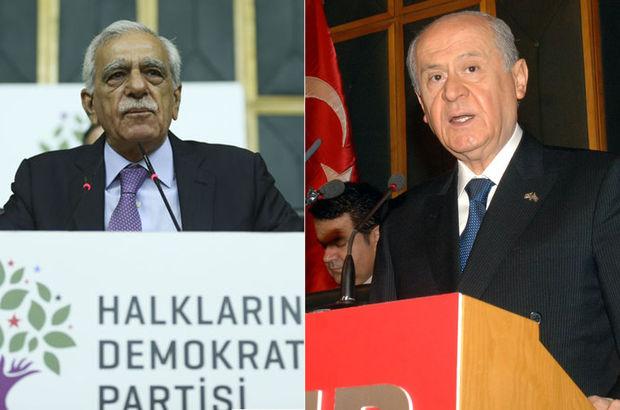Devlet Bahçeli ve Ahmet Türk telefonda görüştü