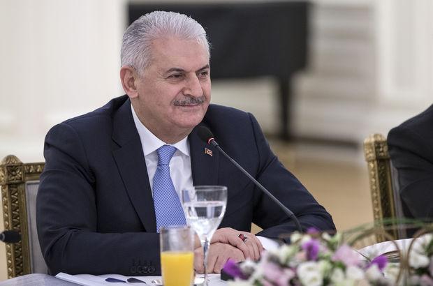 Başbakan'dan Mihriban Aliyeva'ya tebrik mesajı