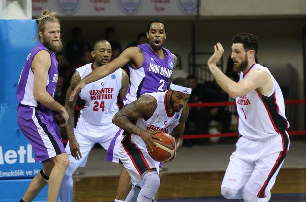Gaziantep Basketbol: 80 - Ironi Nahariya: 65