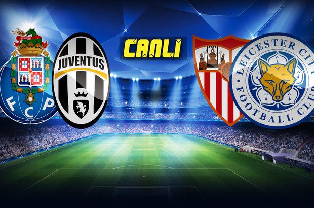 Şampiyonlar Ligi 2. tur maçları | CANLI YAYIN