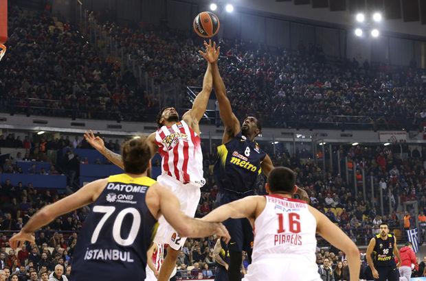 Fenerbahçe - Olympiakos maçı hangi kanalda, saat kaçta, ne zaman?