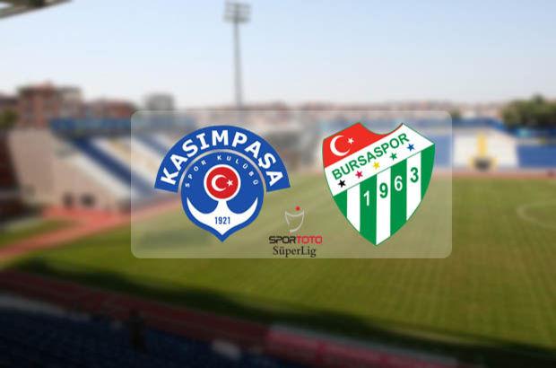 Kasımpaşa Bursaspor maçı saat kaçta, ne zaman, hangi kanalda?