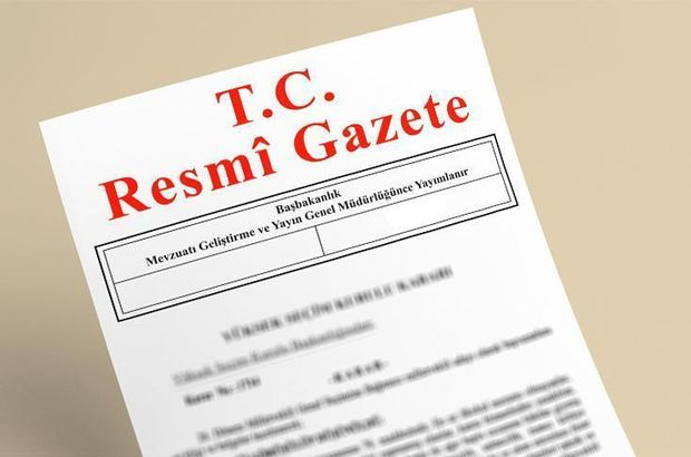 Milletlerarası anlaşmalar Resmi Gazete'de