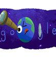"""NASA, Dünya büyüklüğünde ve Dünya benzeri olan 7 gezegenin keşfedildiğini açıkladı. Google da bu keşif haberi için """"exoplanet discovery"""" Doodle"""