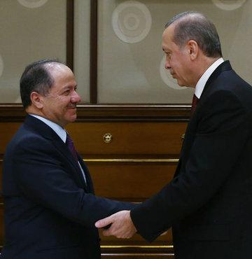 Erdoğan ile Barzani pazar günü görüşecek