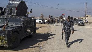 Irak ordusu Musul havalimanı için saldırıya geçti